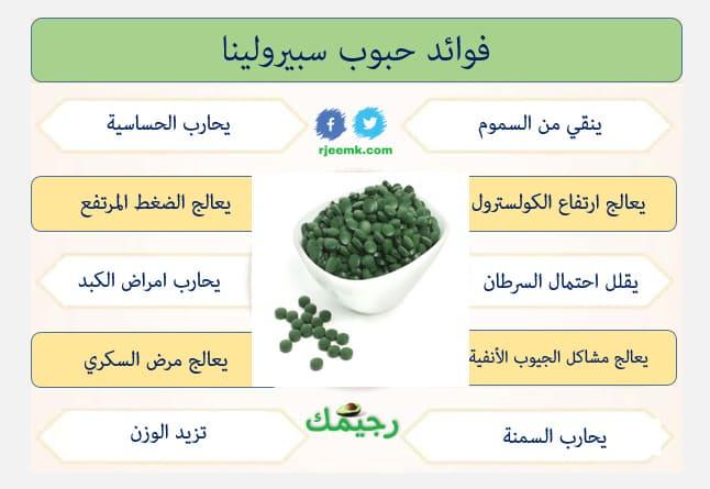 فوائد اعشاب سبيرولينا لزيادة الوزن